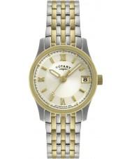 Rotary LB00793-09 Damer klockor två ton watch