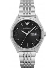 Emporio Armani AR1977 Mens klänning silver stål armband klocka
