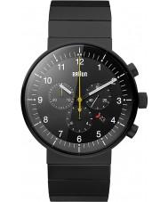 Braun BN0095BKBKBTG Man prestige svart chronographklockan