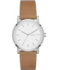 DKNY NY2339 Damer soho brunt läder Strap Watch