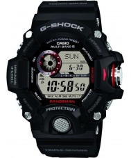 Casio GW-9400-1ER Mens g-shock premie trippel sensor radiostyrda soldrivna klocka