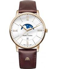 Maurice Lacroix EL1108-PVP01-112-1 Mens Eliros brunt läder Strap Watch
