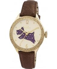 Radley RY2210 Damer brunt läder Strap Watch med stenar