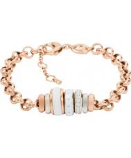 Fossil JF01121998 Damer klassiker steg guld stålkedja armband