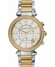 Michael Kors MK5626 Ladies parker två ton stål chronographklockan