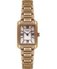 Rotary LB02652-41 Damer klockor guldpläterade klockan