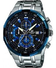 Casio EFR-539D-1A2VUEF Man byggnad blå silver chronographklockan