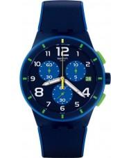 Swatch SUSN409 Bleu sur bleu klocka