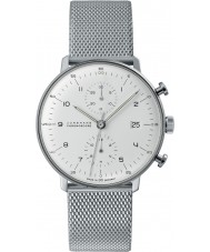Junghans 027-4003-44 Max bill silver Chrono automatisk klocka