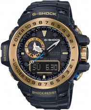 Casio GWN-1000GB-1AER Mens g-shock svart soldrivna kompass och höjdkombi titta