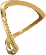 Edblad 3153441919-S Damer Kavala guldpläterad ring - storlek n (s)