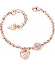 Guess UBB82059-L Damer hjärta hängivenhet armband