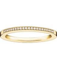 Thomas Sabo Dam glam och själ gult guld diamantring