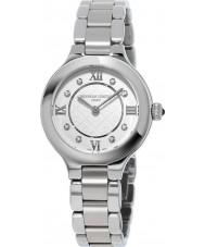 Frederique Constant FC-200WHD1ER36B Ladies klassiker glädje silver stål armband klocka