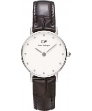 Daniel Wellington DW00100069 Damer flott york 26mm silverur