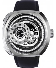 Sevenfriday Q1-01 Industriell motor klocka