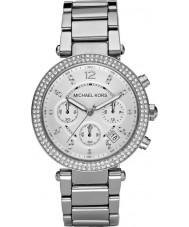 Michael Kors MK5353 Ladies blair silver tonen chronographklockan