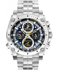 Bulova 96G175 Man precisionist silver stål armband chronographklockan
