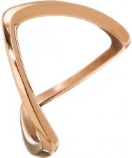 Edblad 3153441918-S Damer Kavala steg guldpläterad ring - storlek n (s)