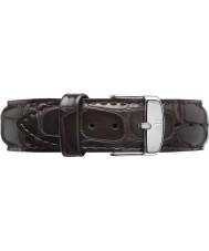 Daniel Wellington DW00200089 Dapper 19mm york silver extra rem