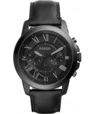 Fossil FS5132 Mens bevilja svart chronographklockan