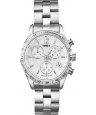 Timex T2P059 Damer alla krom klänning chronographklockan
