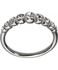 Edblad 2153441920-XS Damer valens blanka stål linje ring - storlek l (xs)