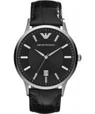 Emporio Armani AR2411 Mens klassiskt svart klocka