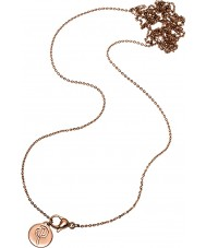 Edblad 116130174 Damer charmentity ökade guldpläterad lång kedja