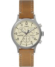 Timex TW4B09200 Mens expedition tan läderrem watch
