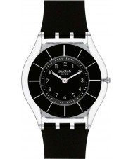Swatch SFK361 Skin - svart classiness klocka