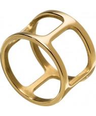 Edblad 3153441913-XL Damer helena gul guldpläterad ring - storlek s (xl)