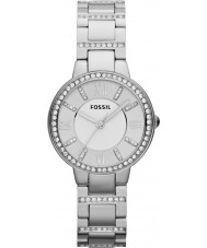 Fossil ES3282 Ladies Virginia silver stål watch