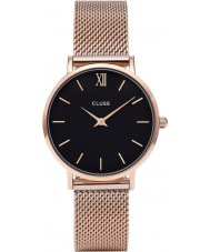 Cluse CL30016 Damer minuit mesh watch