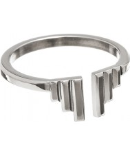 Edblad 31630004-M Damer gudomliga vingar silver tonen ring - storlek p (m)