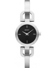 DKNY NY8541 Damer Reade svart silver watch