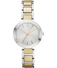 DKNY NY2401 Damer Stanhope två ton stål armband klock