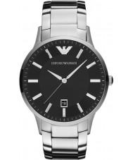 Emporio Armani AR2457 Mens klassiskt svart silver klocka