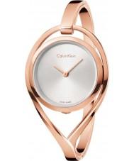 Calvin Klein K6L2M616 Damer ljusrosa guldpläterad armband klocka