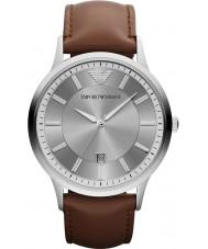 Emporio Armani AR2463 Mens klassiska grå brun klocka