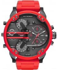 Diesel DZ7370 Mens mr pappa 2,0 röd stål armband klocka