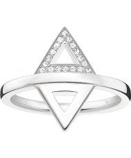 Thomas Sabo Dam glam och själ silver diamantring