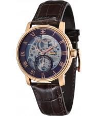 Thomas Earnshaw ES-8041-05 Mens westminster brunt lerkruka läderrem watch