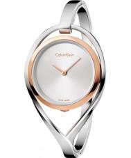 Calvin Klein K6L2MB16 Damer ljus silver stål armband klocka