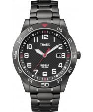 Timex TW2P61600 Mens Field sätt svart stål armband klocka