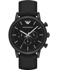 Emporio Armani AR1970 Mens klassiskt svart chronographklockan