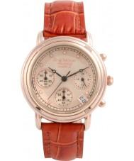 Krug-Baumen 150575DL Princip diamant damer steg guld chronographklockan