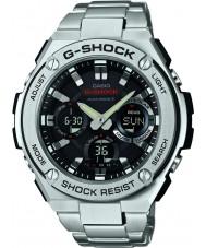 Casio GST-W110D-1AER Mens g-shock radio styrd soldrivna silver watch