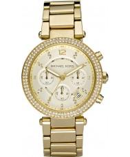 Michael Kors MK5354 Ladies blair guldpläterad chronographklockan