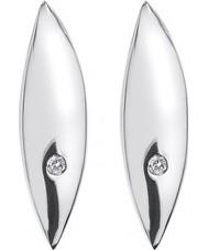 Hot Diamonds DE452 Ladies blad sterling silver örhängen